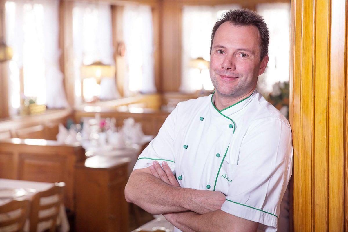 Alexander Spring vom Hotel & Restaurant Traube Neuffen