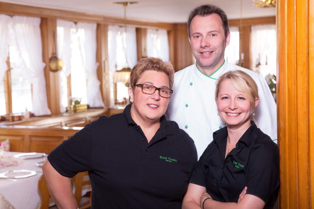 Team vom Hotel & Restaurant Traube Neuffen