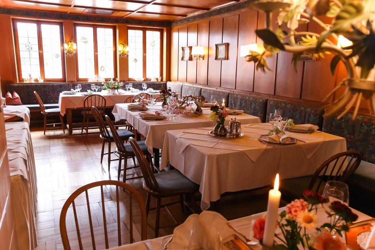 Birnbaumstübchen im Hotel & Restaurant Traube Neuffen