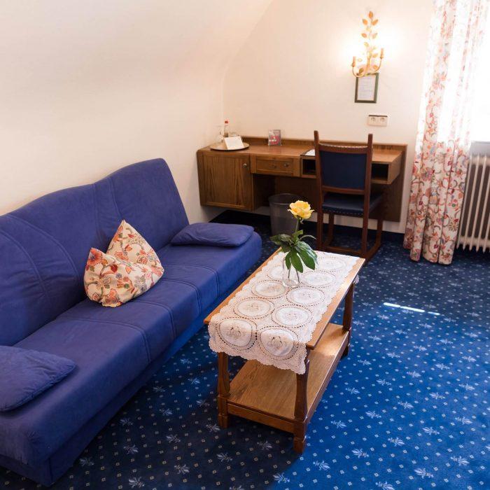Ausstatung der Zimmer im Hotel & Restaurant Traube Neuffen