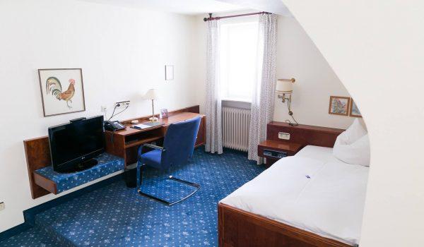 Einzelzimmer im Hotel & Restaurant Traube Neuffen