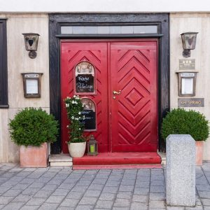 Außenansicht des Hotels & Restaurants Traube Neuffen
