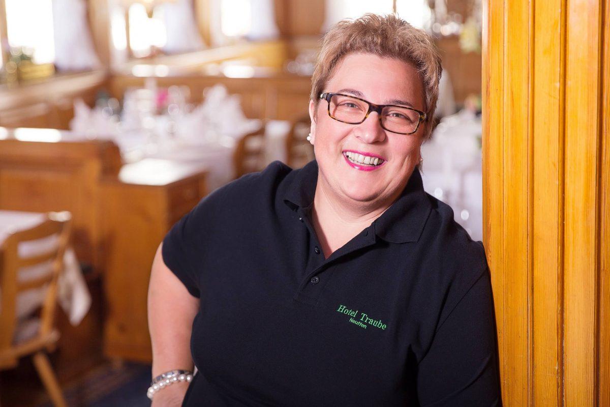 Bärbel Hahn vom Hotel & Restaurant Traube Neuffen