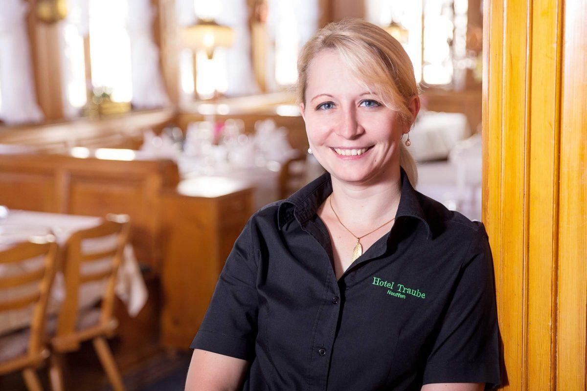 Ina Schlotz vom Hotel & Restaurant Traube Neuffen