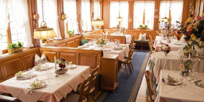 Speisesaal im Hotel & Restaurant Traube Neuffen